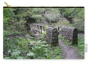 Footbridge At Millers Dale Carry-all Pouch