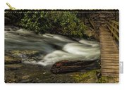 Footbridge Over Raging Moccasin Creek Carry-all Pouch