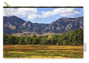 Foothills Of Colorado Carry-all Pouch