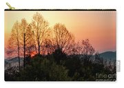 Foothills Parkway Sunrise Carry-all Pouch