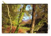 Footpath At The Edge Of Lantys Tarn In The Lake District Cumbria Carry-all Pouch