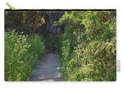 Footpath In Peters Canyon I Carry-all Pouch