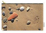 Footprint On Sand Carry-all Pouch
