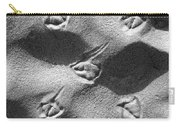 Footprints Carry-all Pouch