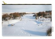 Footprints In The Snow V Carry-all Pouch