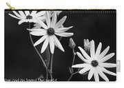 For God So Loved Black-eyed Susan Flower Carry-all Pouch