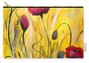 For The Love Of Poppies Carry-all Pouch