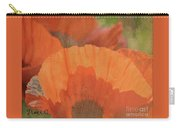 For The Love Of Poppy Carry-all Pouch