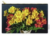 Foral Bouquet Of Red And Yellow Astomelia Carry-all Pouch