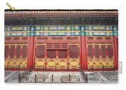 Forbidden City Building Detail Carry-all Pouch