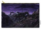 Forbidden Land Of The Beasts Descent Carry-all Pouch