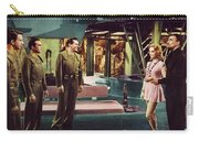Forbidden Planet In Cinemascope Retro Classic Movie Poster Indoors Carry-all Pouch