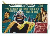 Forbidden Planet In Cinemascope Retro Classic Movie Poster Carry-all Pouch