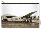 Ford 4-at-a Maddux Air Lines Los Angeles Circa 1928 Carry-all Pouch