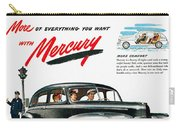 Ford Mercury Ad, 1946 Carry-all Pouch