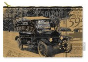 Ford Model T Made Using Found Objects Carry-all Pouch