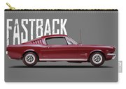 Ford Mustang Fastback 1965 Carry-all Pouch