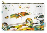 Ford Mustang Paint Splatter Carry-all Pouch