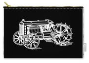 Ford Tractor Patent 1919 Black Carry-all Pouch
