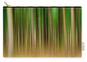 Forest Abstract04 Carry-all Pouch by Svetlana Sewell