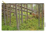 Forest After Storm - Fall Pines In Wild Forest Carry-all Pouch