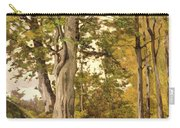 Forest At Fontainebleau Carry-all Pouch