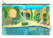 Forest At The Shore Carry-all Pouch