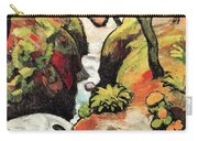 Forest Brook By August Macke Carry-all Pouch