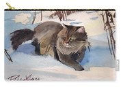 Forest Cat Carry-all Pouch