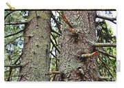 Forest Corrosion Bark Carry-all Pouch