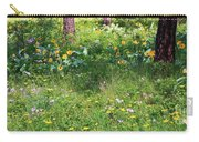 Forest Flowers Landscape Carry-all Pouch