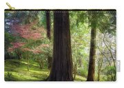 Forest In Portland Japanese Garden Carry-all Pouch