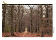 Forest Lane Near Maarsbergen Carry-all Pouch