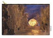 Forest Moonrise Glow Carry-all Pouch