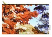 Forest Of Fall Colors Carry-all Pouch