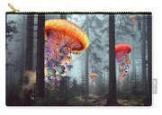 Forest Of Jellyfish Worlds Carry-all Pouch