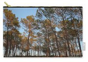 Forest Pine Trees At Sunset Carry-all Pouch