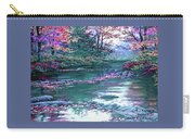 Forest River Scene. L A Carry-all Pouch