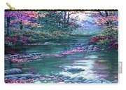 Forest River Scene. L B Carry-all Pouch
