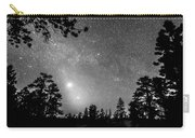 Forest Silhouettes Constellation Astronomy Gazing Carry-all Pouch