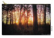 Forest Sunset Carry-all Pouch