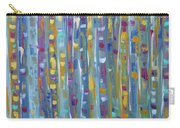 Forest Through The Trees, Abstract Art Carry-all Pouch