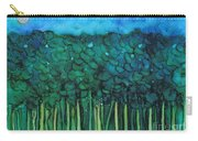 Forest Under The Full Moon - Abstract Carry-all Pouch