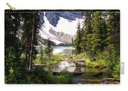 Forest View To Mountain Lake Carry-all Pouch by Greg Hammond