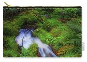 Forest  Water Stream. Benmore Botanic Garden Carry-all Pouch