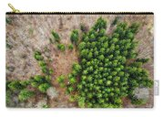 Forest With Green Trees From Above Carry-all Pouch
