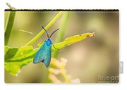 Forester Moth From Bulgaria Carry-all Pouch