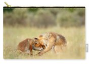 Foreverandeverandever - Red Fox Love Carry-all Pouch