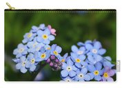 Forget Me Not 1 Carry-all Pouch