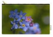Forget Me Not 2 Carry-all Pouch